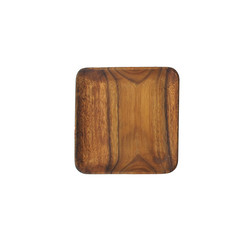 Acacia Wood 7 in. Square Plate/Tray