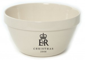 The Queen uses Mason Cash pudding basins for Christmas gifts of her secret pudding recipe!