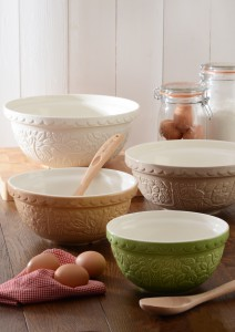 Beautiful Mason Cash in the forest mixing bowls.