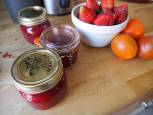 Blood Orange Strawberry Jam