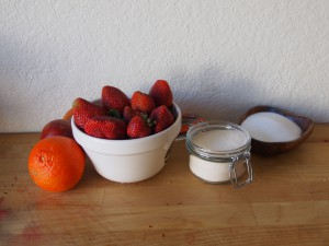 Strawberry Jam Ingredients