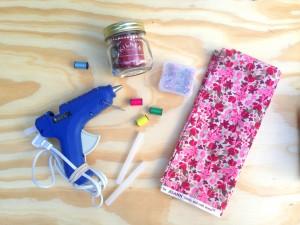 Kilner Jar Crafting DIY Pincushion