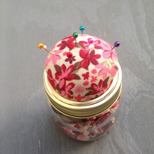 Kilner Jar Pincushion
