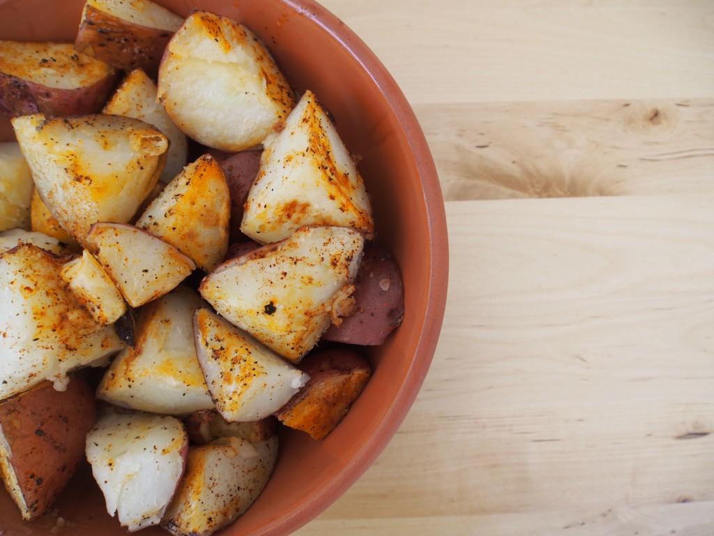 Delicious tapas: Patatas Bravas