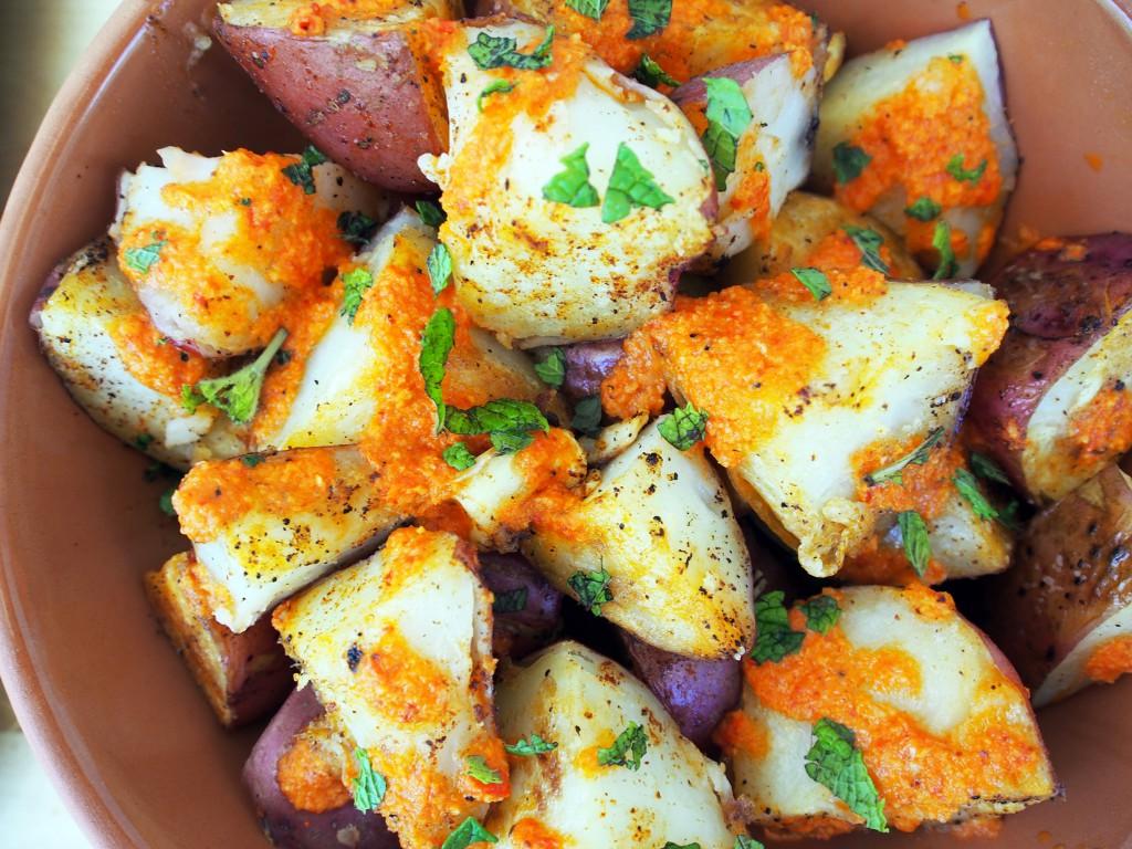 Patatas Bravas Closeup