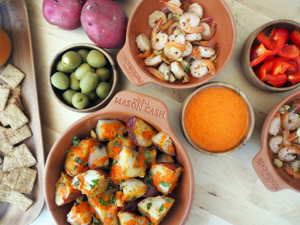 Restaurant style tapas at home