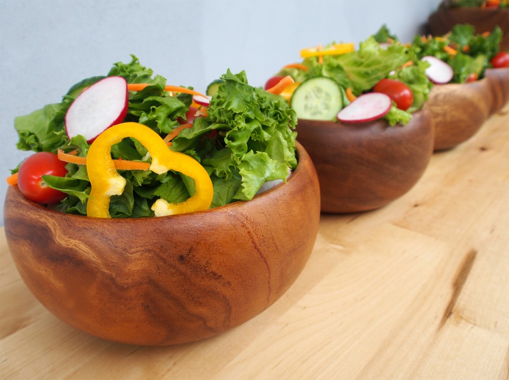 Bowls of Green Salad Recipe - So Easy