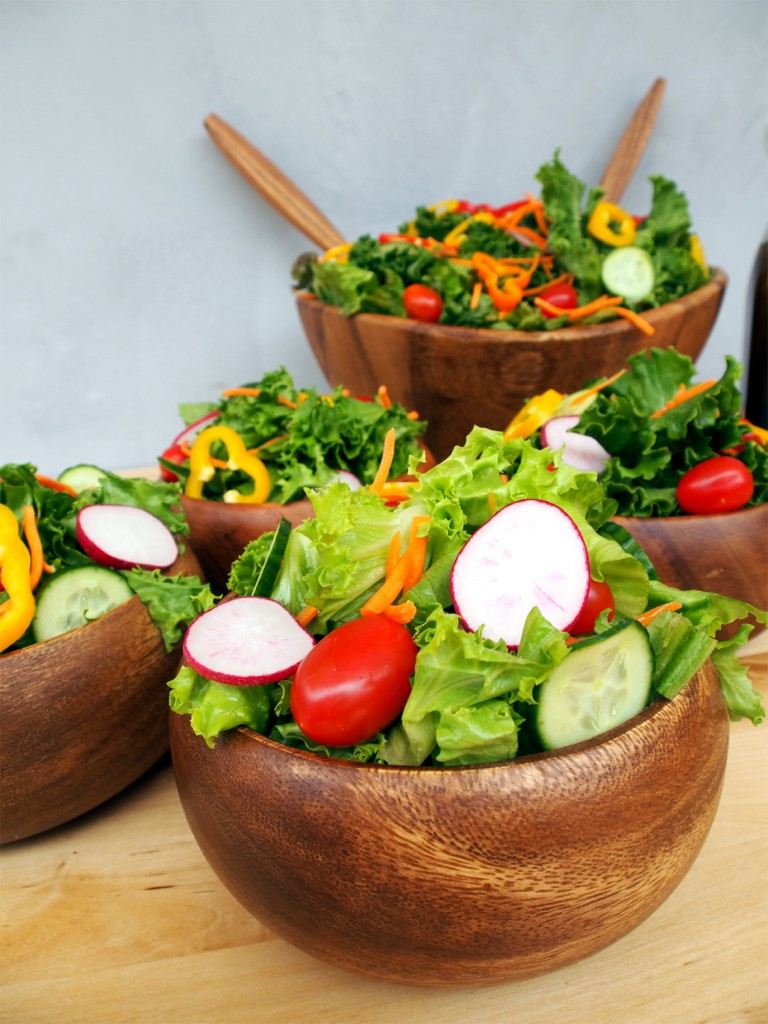 How to Make a Beautiful, Balanced Green Salad