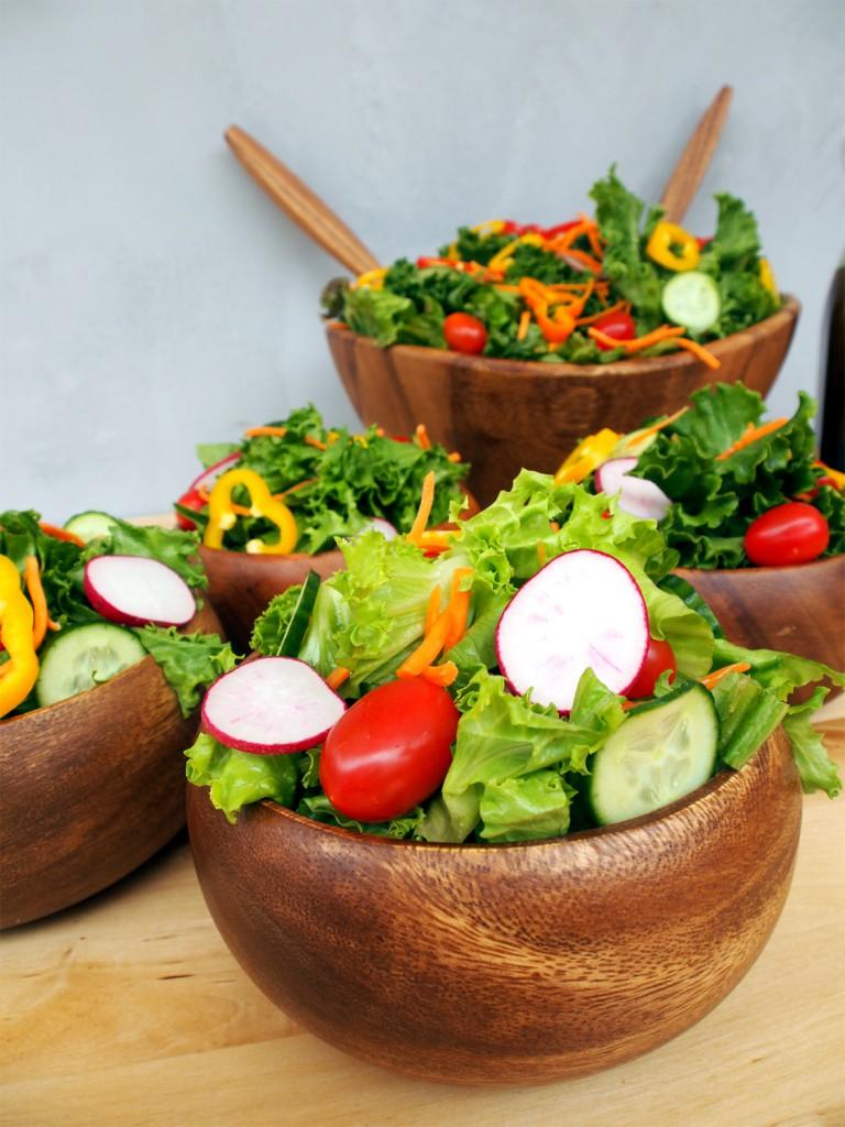 How to Make a Beautiful, Balanced Green Salad