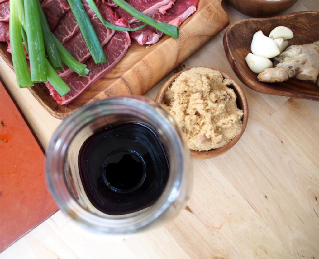 A few ingredients. Learn how to make korean barbecue
