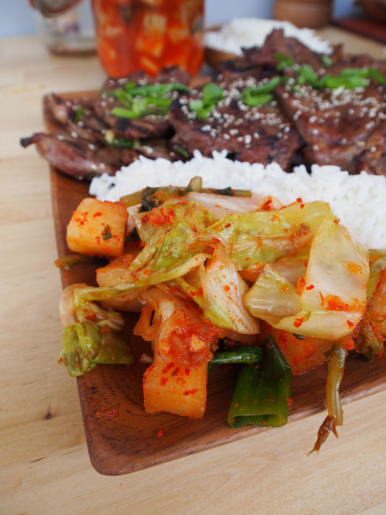 Make your Own Kimchi and how to use it