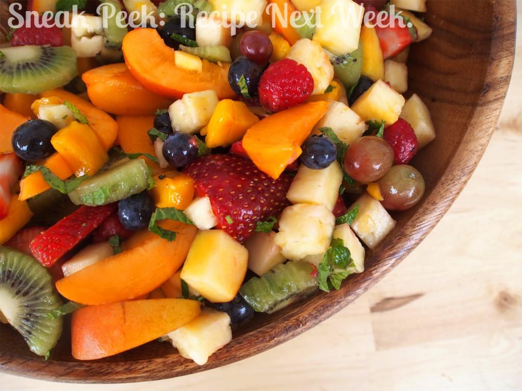 Colorful Summer Fruit Salad