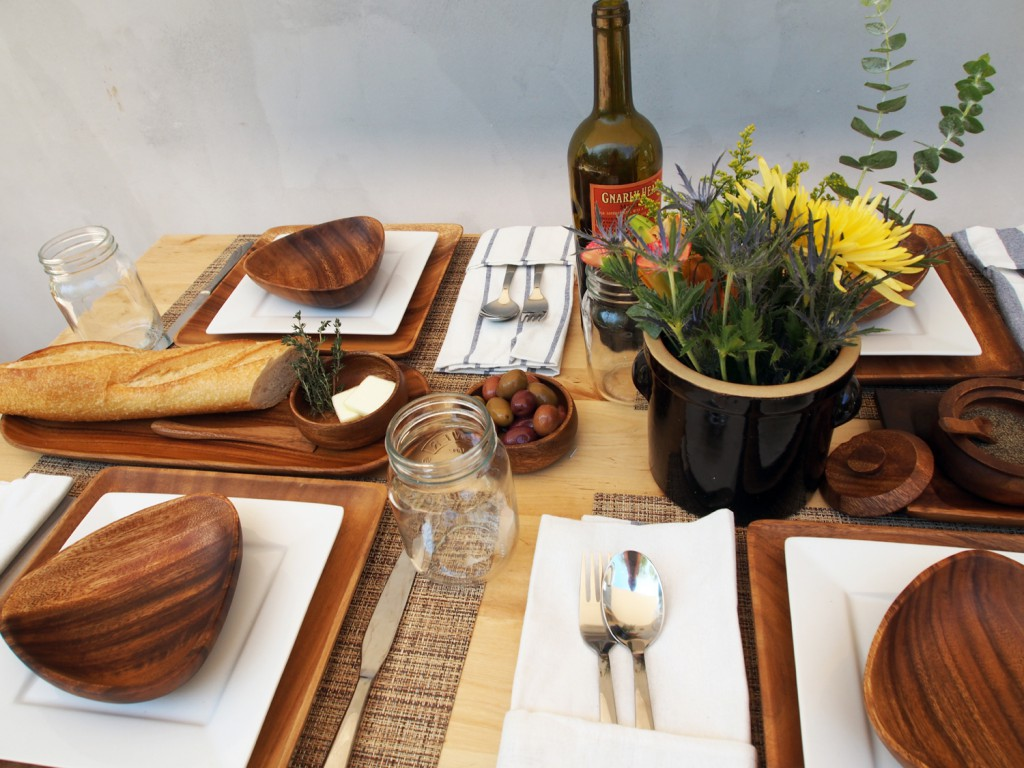Placemats and acaciaware - 25% off for Labor Day!
