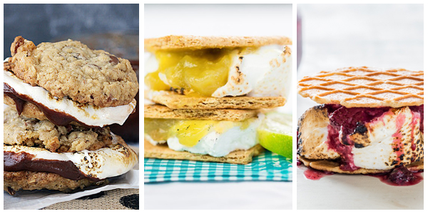 delicious smores, bacon smores, lime smores