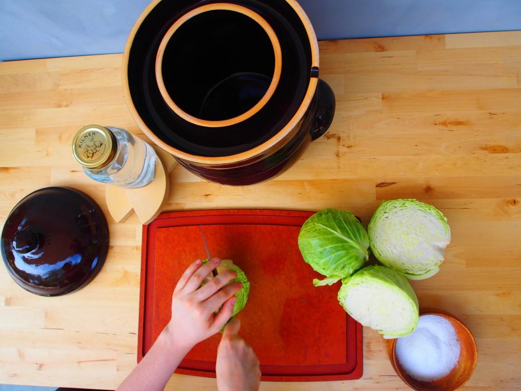 How to make sauerkraut from scratch