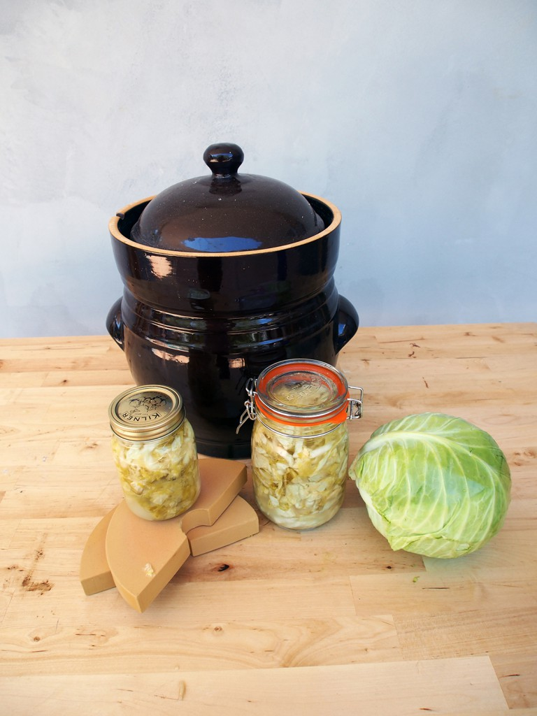 Finished Sauerkraut