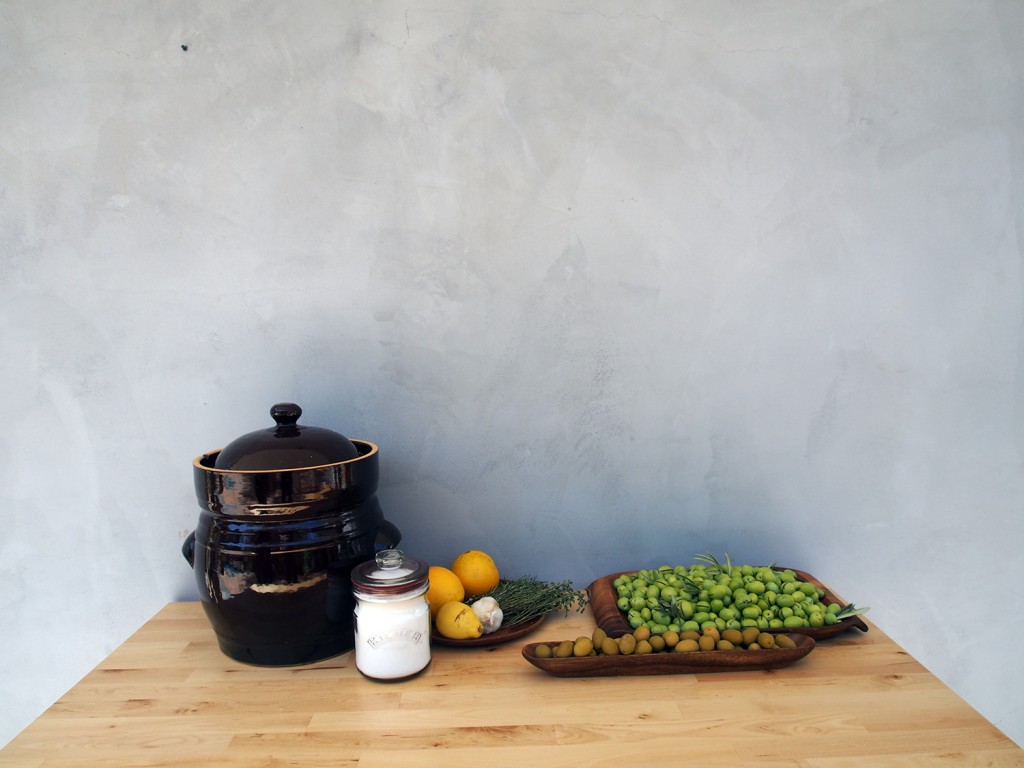 Green Olives: How To cure them