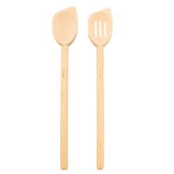 Regular Beechwood Corner Spoon, 12""