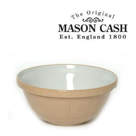 "Mason Cash Mixing Bowl, Size 24, 9.75"" x 4.5"" (3qts)"