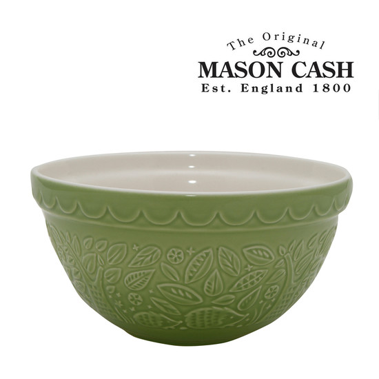"Mason Cash In the Forest Hedgehog Mixing Bowl, Green, Size 30, 8.25"" x 4"""