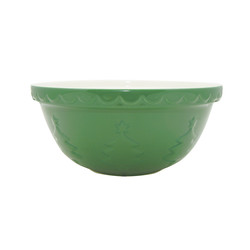 "Mason Cash Christmas Tree Mixing Bowl, Size 12, 11.25"" x 5.25"""
