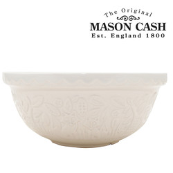 "Mason Cash In the Forest Fox Mixing Bowl, Cream, Size 12, 11.25"" x 5.25"""