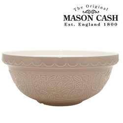 "Mason Cash In the Forest Owl Mixing Bowl, Stone, Size 18, 10.75"" x 4.5"""