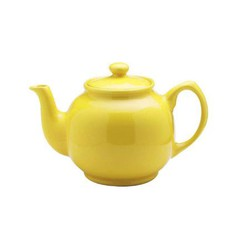 Yellow Tea Pot 2 Cup, 16oz, Mason Cash/ Price & Kensington
