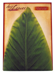 Large Banana Cheese Leaves by Deco Leaves