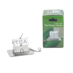 Tea Infuser House with Caddy