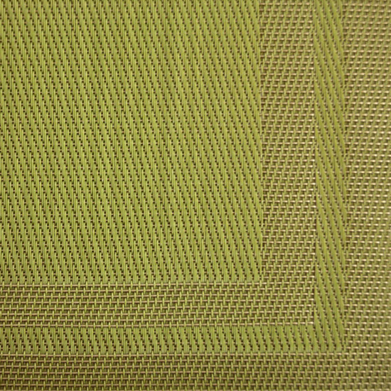 "Olive Green Placemat, 18"" X 12"""