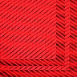 "Red Placemat, 18"" x 12"", Set of 4"